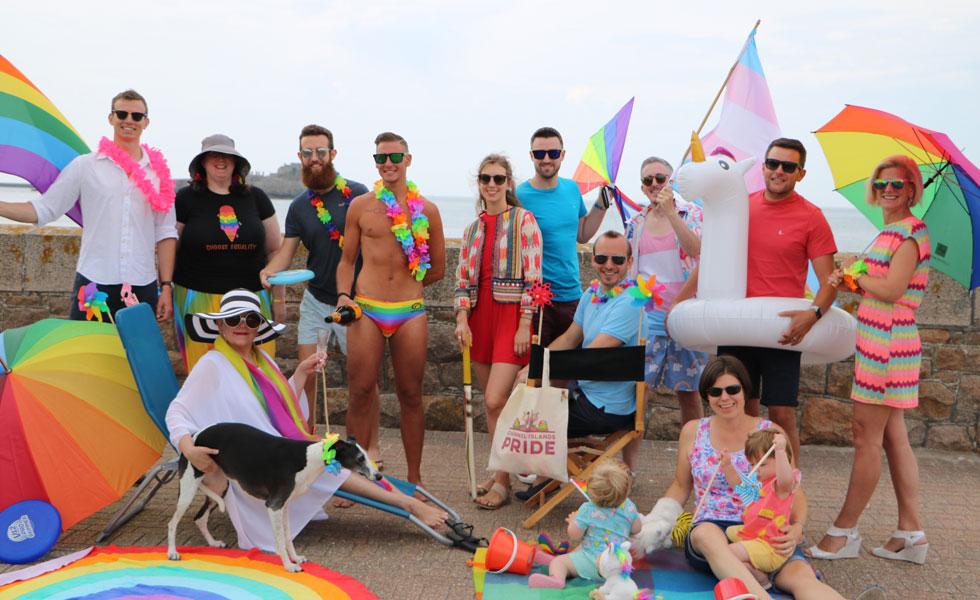 Photo: Liberate's C I Pride photo shoot