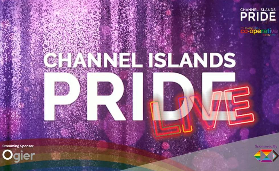 Photo: CI Pride Live title screen