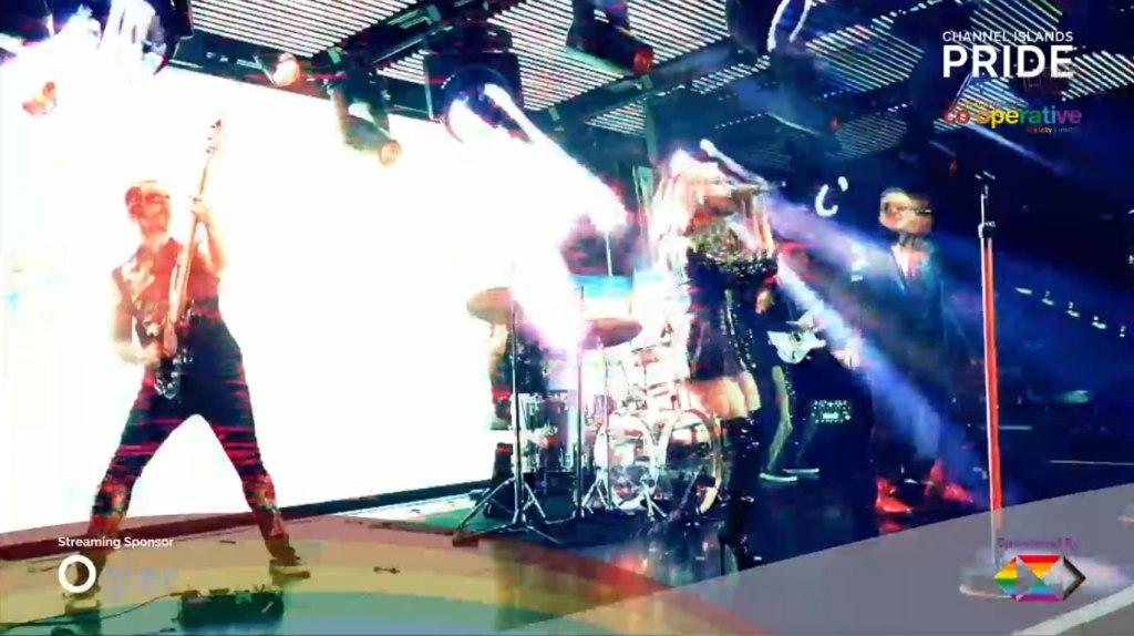 Photo: MadHen Party Band at CI Pride
