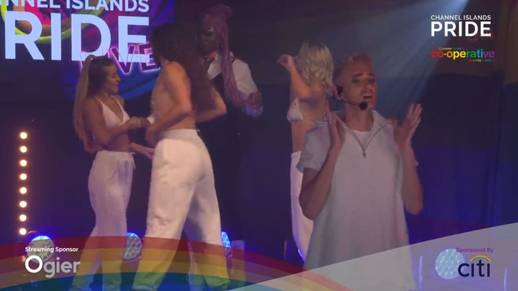 Photo: Shea and Kingsy at CI Pride